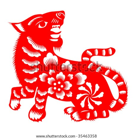 Chinese Tiger patter