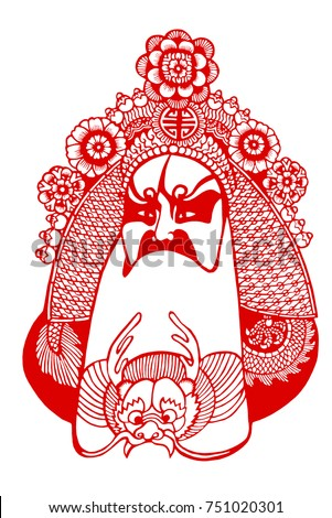 Chinese traditional opera characters