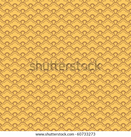 chinese vector pattern. - stock vector