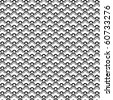 chinese vector pattern in b/w. - stock photo