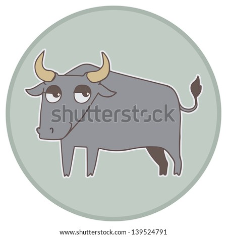 Chinese zodiac animal vector illustration.