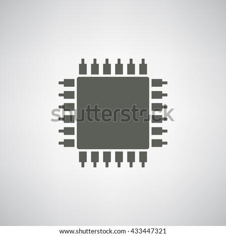 Chip Icon JPG, Chip Icon Graphic, Chip Icon Picture, Chip Icon EPS, Chip Icon AI, Chip Icon JPEG, Chip Icon Art, Chip Icon, Chip Icon Vector, Chip sign, Chip symbol - stock vector