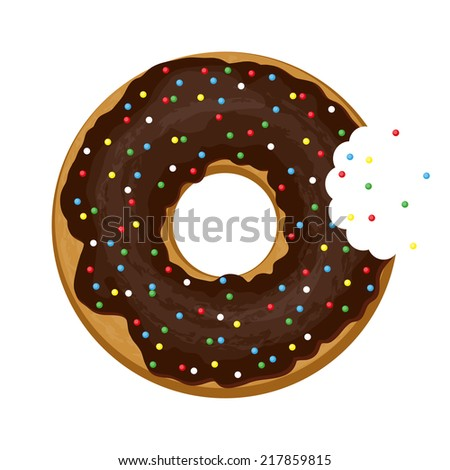 Biting stock vectors vector clip art shutterstock for Mosquito donuts