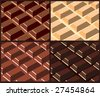 chocolate bar,vector. - stock photo