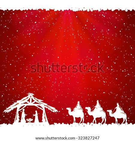 christian christmas background