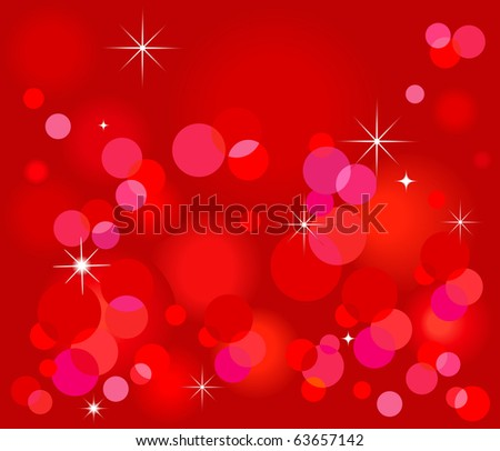 Christmas abstract  background - stock vector