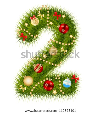 Christmas Numbers Stock Photos, Royalty-Free Images & Vectors ...