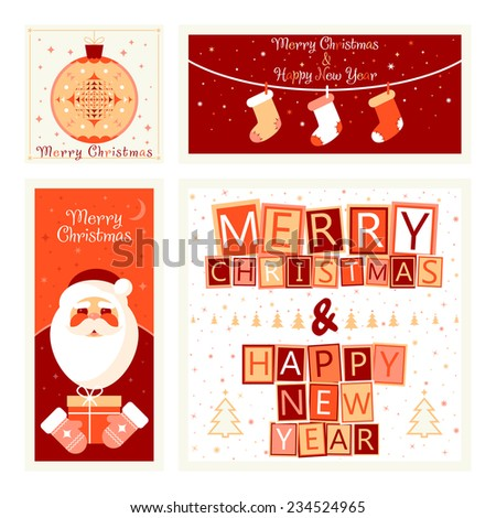 KarnoffS Merry Christmas Set On Shutterstock