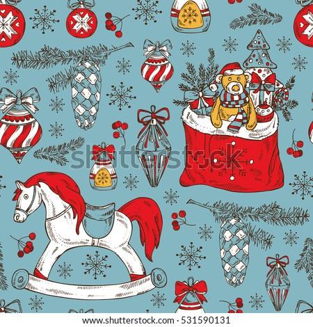 Christmas Bag Stock Photos, Royalty-Free Images & Vectors ...
