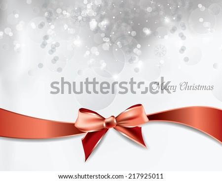 Christmas Background. Abstract Vector Design. - stock vector