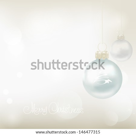 Christmas Background. Abstract Vector Illustration for your design.