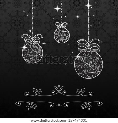 White Christmas Background Christmas Background Black And