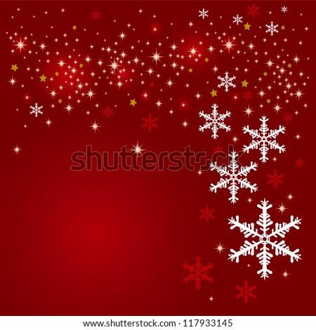 Christmas background design - stock vector