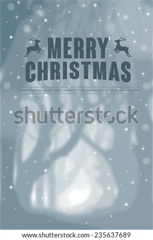 Christmas background. Eps10 vector illustration. - stock vector