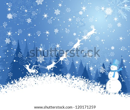 Christmas  background. EPS 10 Vector illustration  with transparency and meshes. - stock vector