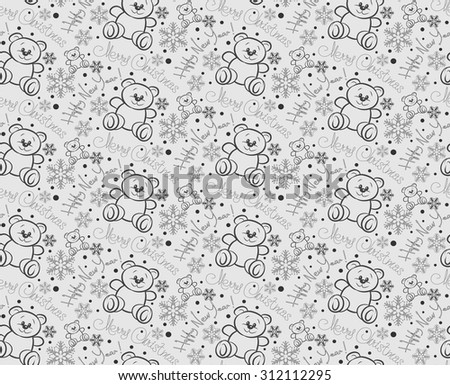 Christmas background good for wrapping paper wallpaper for web design Christmas ornaments seamless pattern Christmas decoration ideas holiday vector image