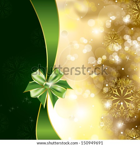 Christmas Background. Vector Design. - stock vector