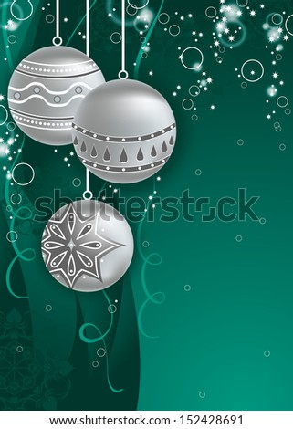 Christmas Background. Vector Design in Eps10 Format. - stock vector