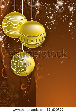 Christmas Background. Vector Eps10 Design. - stock vector