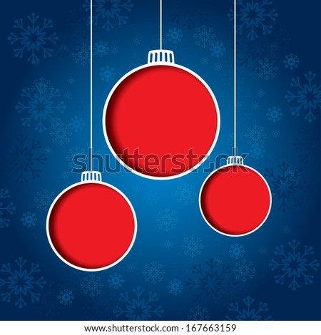 Christmas Background. Vector Format.