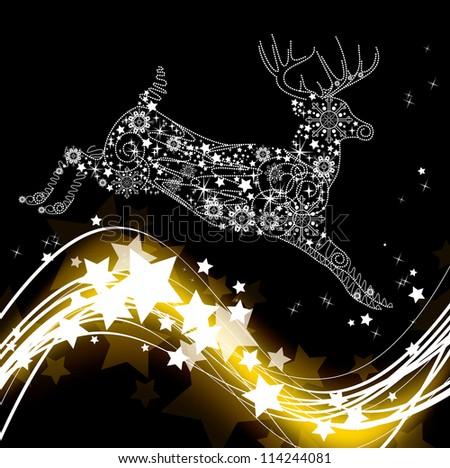 Christmas Background. Vector Illustration. - stock vector