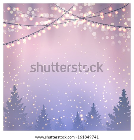 Christmas Background. Vector illustration, eps10 - stock vector
