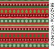 Christmas background, wrapping paper - stock vector