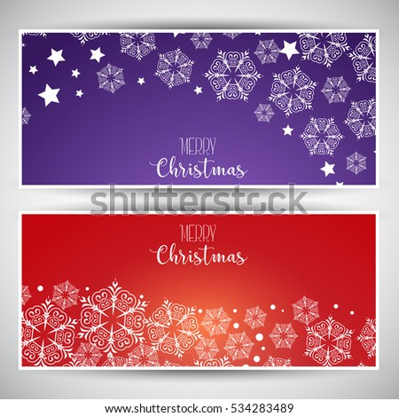 Christmas backgrounds with decorative snowflake design