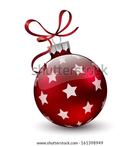 Christmas ball.Vector - stock vector