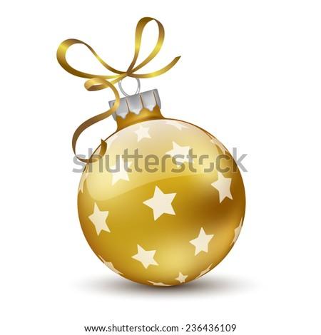 Christmas Ball.Vector - stock vector