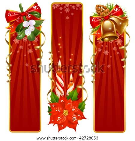 To Vertical Banners Vector Stock Photos, Illustrations, and Vector Art