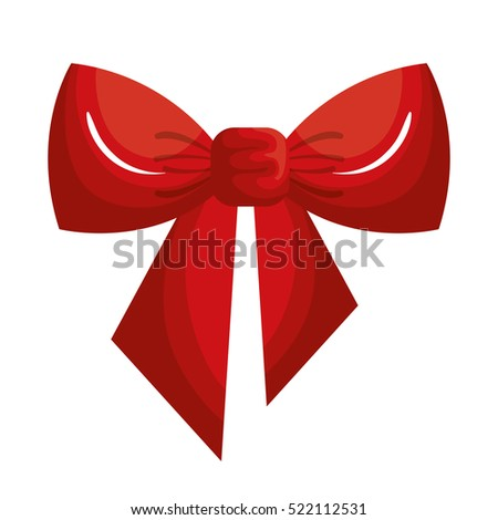 christmas bow ribbon icon
