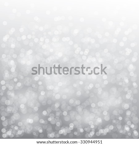 Christmas card design with snowflake on gray background