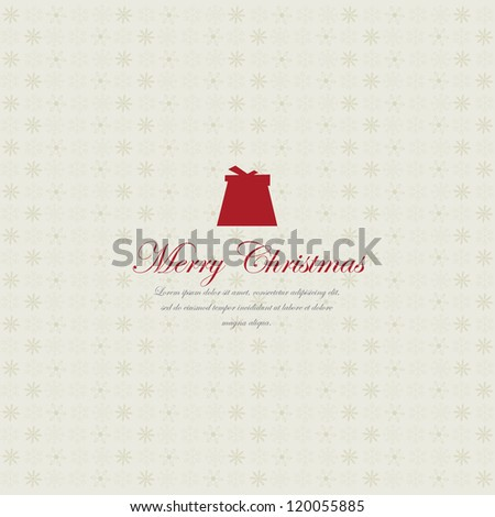 Christmas Card. Vector - stock vector
