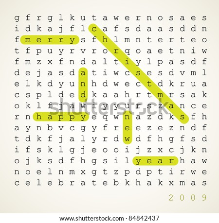 Wedding Card Word Search Puzzle Highlighted Vector 84842455 – Christmas Card Word