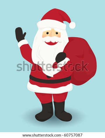 Christmas Cartoon character Santa Claus