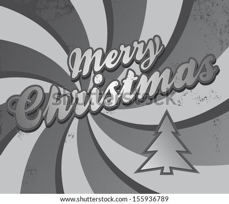 christmas cool greeting - stock vector