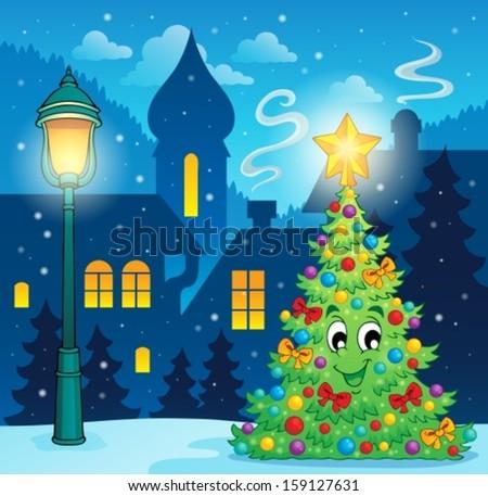Christmas decoration theme 3 - eps10 vector illustration. - stock vector