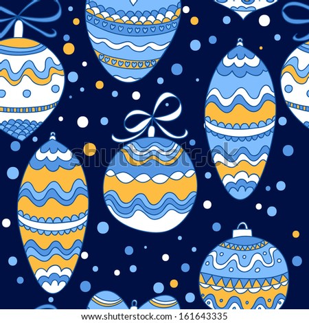 Christmas decorations colorful graphic vector seamless pattern design