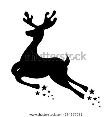 christmas design over white background vector illustration - stock vector