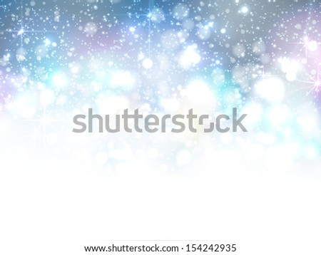 Christmas elegant abstract blue background  - stock vector
