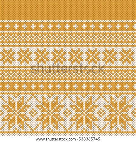 Snowflake Knit Rf Shutterstock