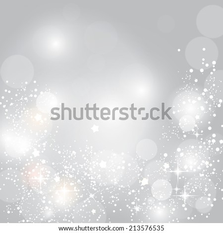 Christmas Glossy Star Background Vector Illustration EPS10  - stock vector
