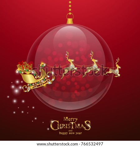 Christmas greeting new years card templates stock vector 2018 christmas greeting and new years card templates with gold patterned and crystals on background color m4hsunfo