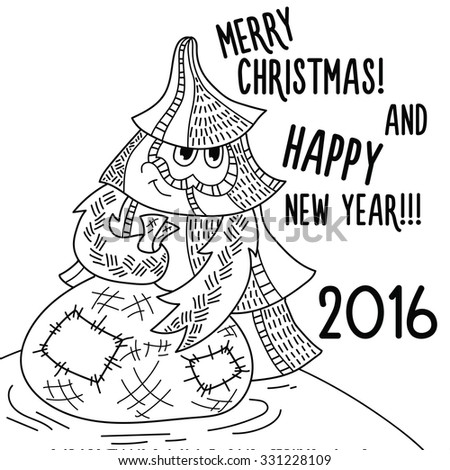 Coloring page happy new year 2016 351827261 for Happy new year coloring pages 2016