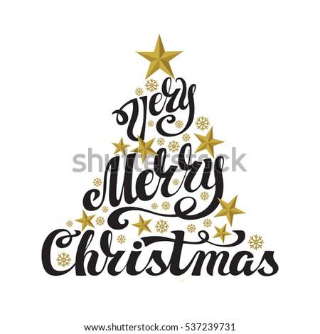merry christmas word