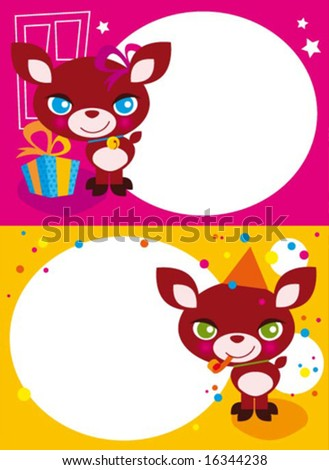 christmas greetings 1 - stock vector