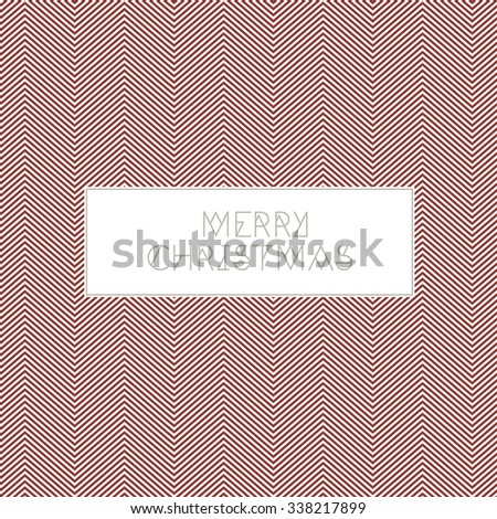 Christmas Greetings Card - stock vector