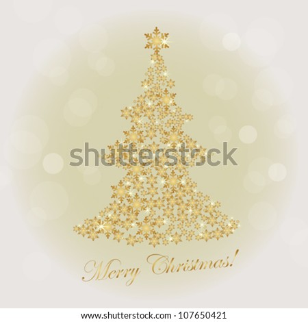 christmas illumination background