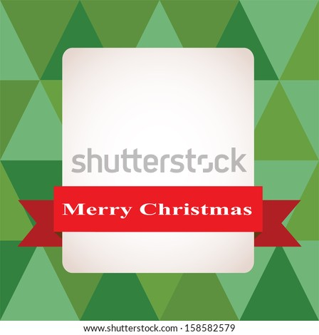 Christmas mosaic background. Vector illustration. Merry Christmas - stock vector